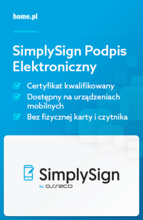 Podpis kwalifikowany SimplySign by Asseco