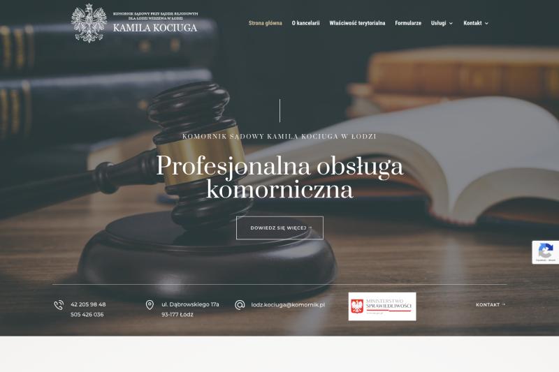 Strona Komornik Kamila Kociuga