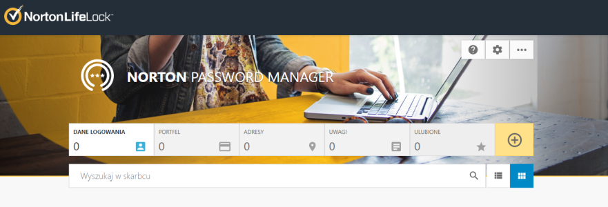 Norton 360 Standard Password Manager