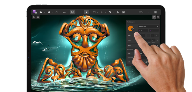 CorelDRAW Graphics Suite dostępny na Windows, Mac i iPady