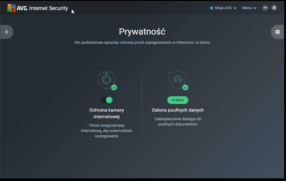 Prywatność AVG