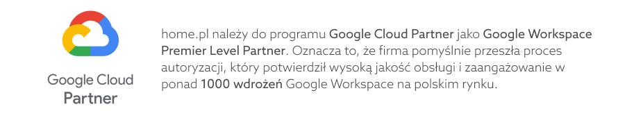 Home.pl Google Cloud Partner