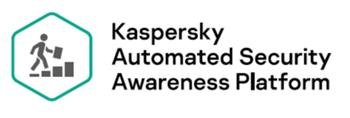 Kaspersky ASAP logo na białym tle