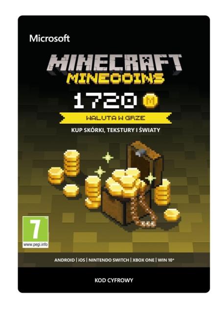 Minecraft Minecoins 1720