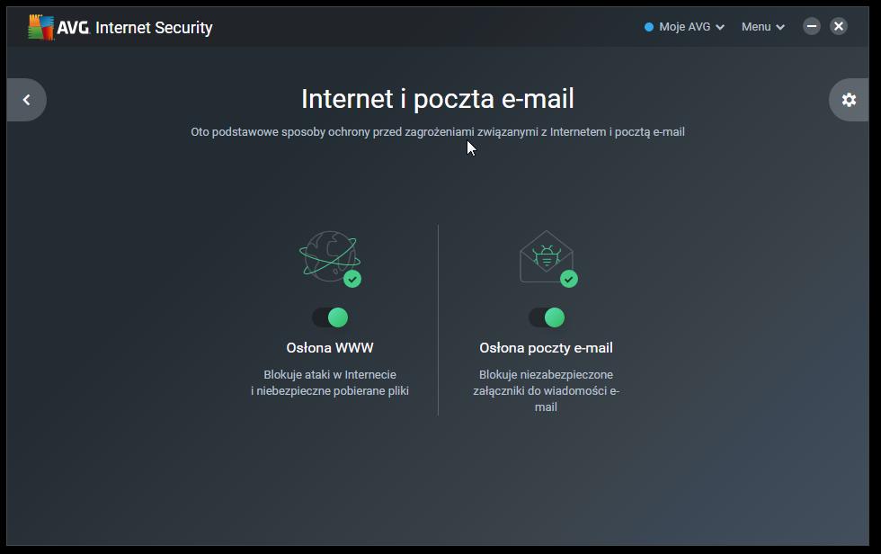 Ochrona Internetu AVG