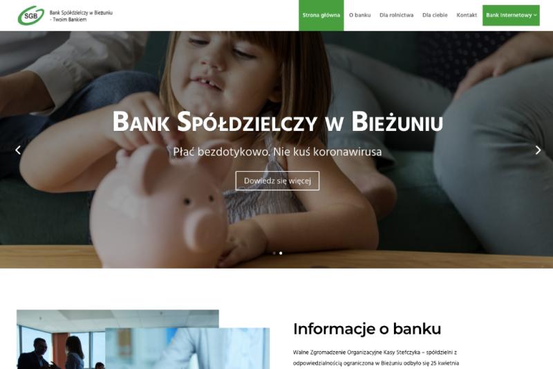 Strona Bank Spółdzielczy