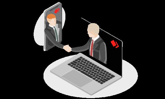 AnyDesk umożliwia zdalne wsparcie klientów