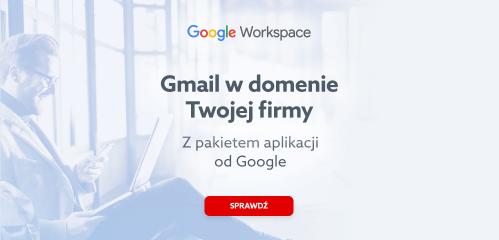Google Workspace - Gmail dla firm