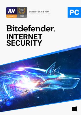 Bitdefender Internet Security program antywirusowy 1 Urządzenie/Licencja na 1 rok
