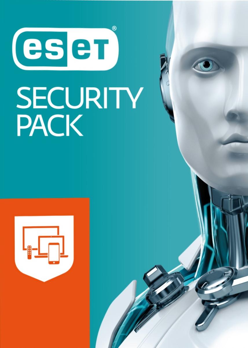 ESET Security Pack 3+3 program antywirusowy na komputer i smartfony/Licencja na 1 rok